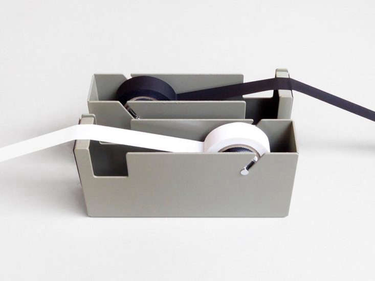 from present & correct in the london, the steel block tape dispenser, £35  11