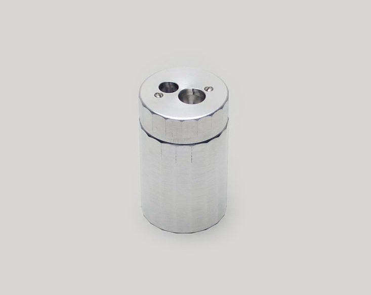 dux of germany has been making precision pencil sharpeners since \1908. drilled 16
