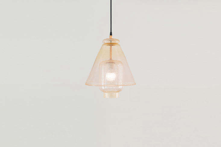 Andrew O. Hughes Meredith Pendant Glass Lights