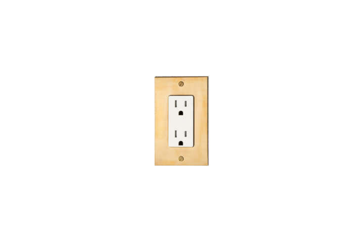 Forbes & Lomax Unlacquered Brass Outlets
