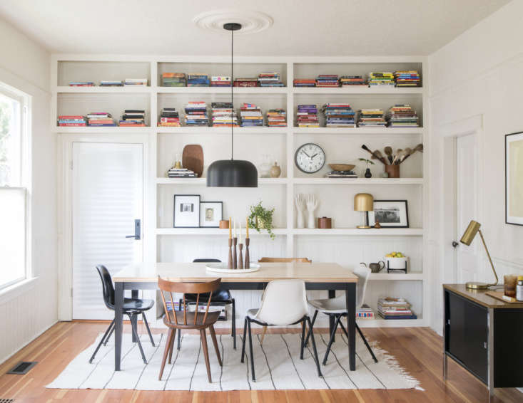 A dining room outfitted with Schoolhouse&#8