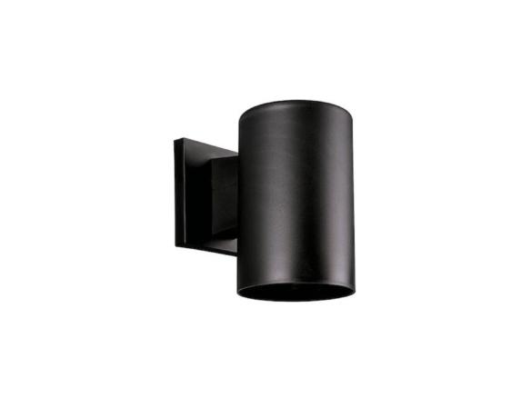 Progress Lighting Cylinder Black, Outdoor Cylinder Light
