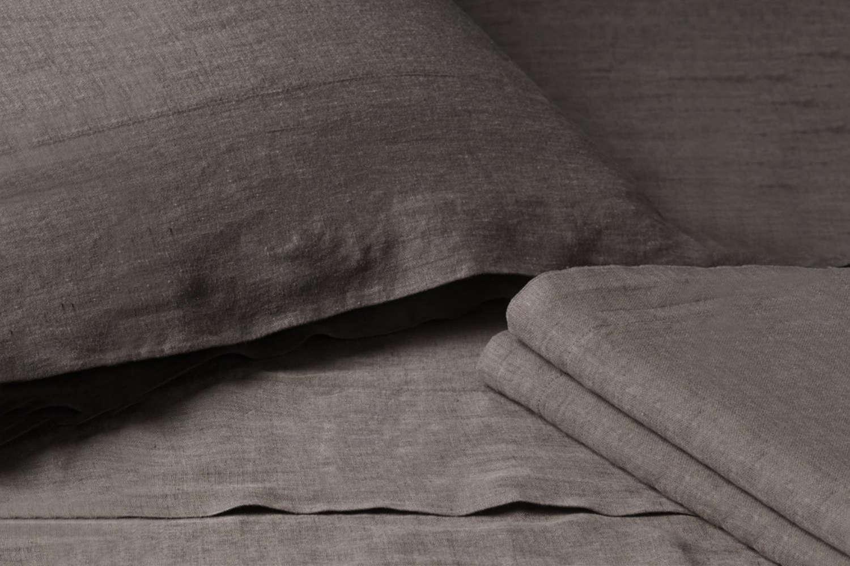 Stonewashed Belgian Linen Sheet Set