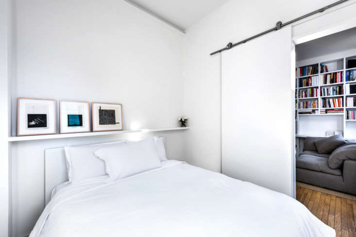 Bedroom in West Village Apartment by Studio Ames, Photograph by Alan Tansey