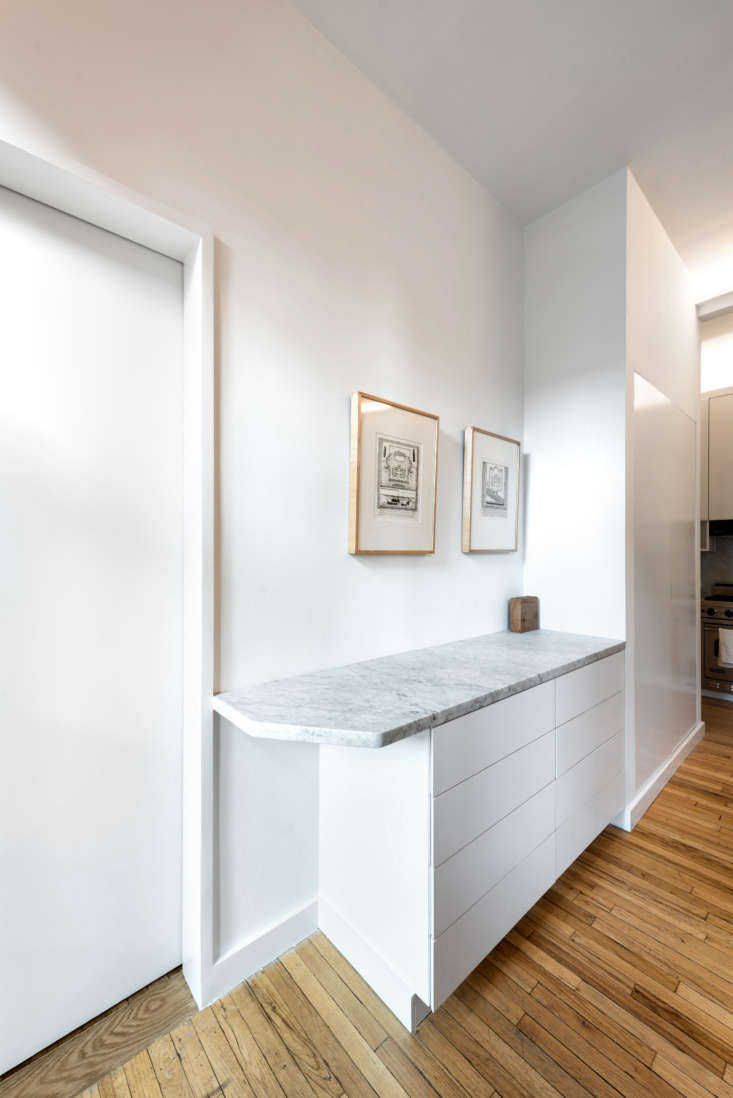 Built-Ins in West Village Apartment by Studio Ames, Photograph by Alan Tansey