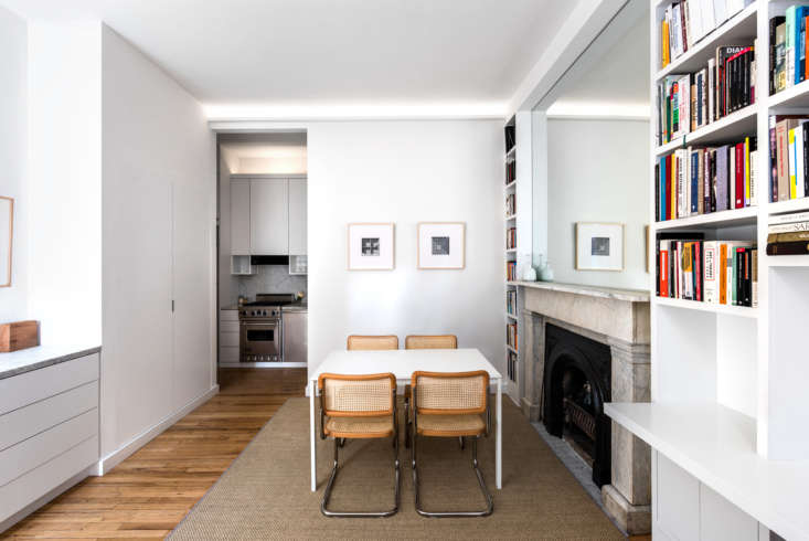 Living Area in West Village Apartment by Studio Ames, Photograph by Alan Tansey