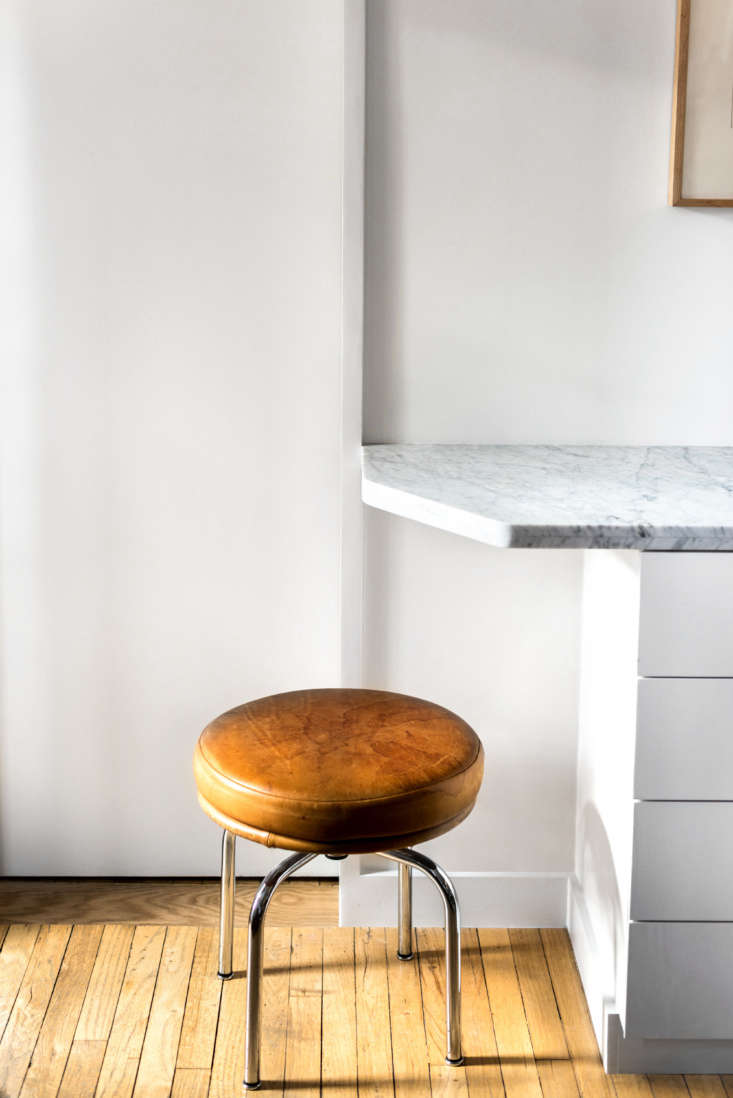 Stool in West Village Apartment by Studio Ames, Photograph by Alan Tansey