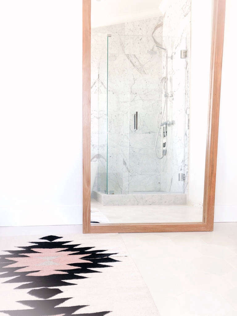 from carlsbad to carlsrad bathroom remodel   marble shower 12