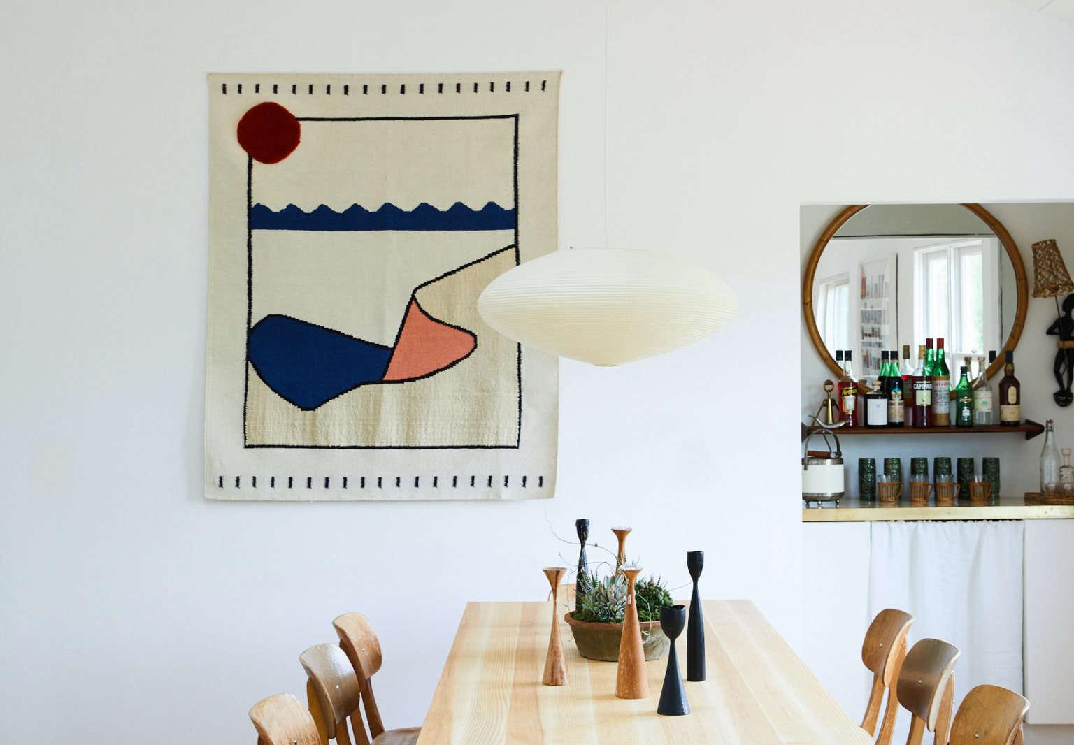 dining room mckinley bungalow montauk