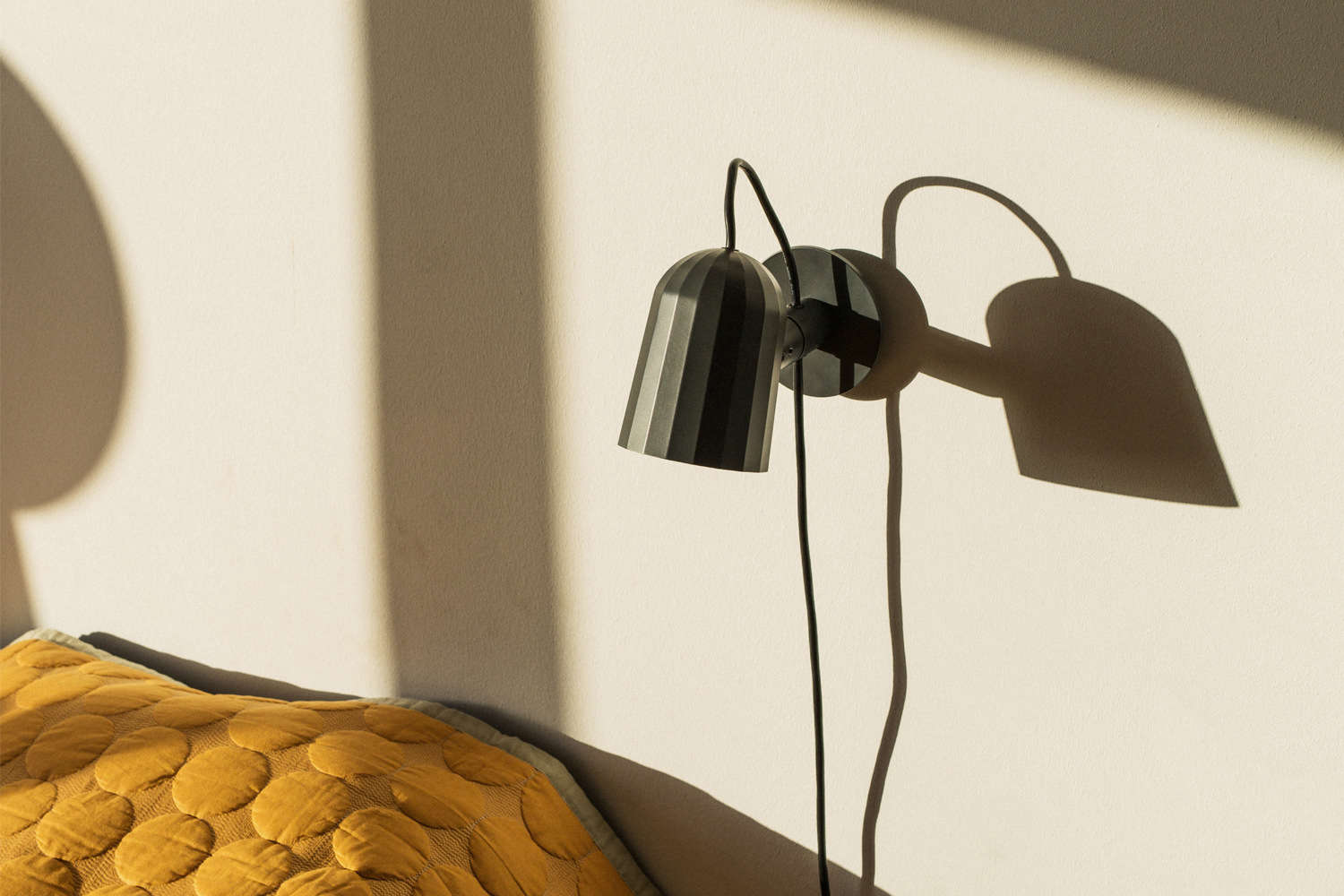 bedside sconce hay noc wall light cover