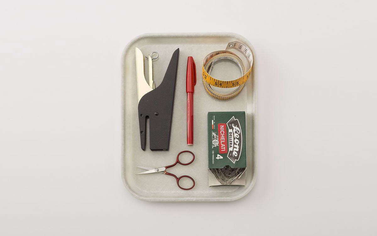 italian paper clips on tray schoolhouse cover image