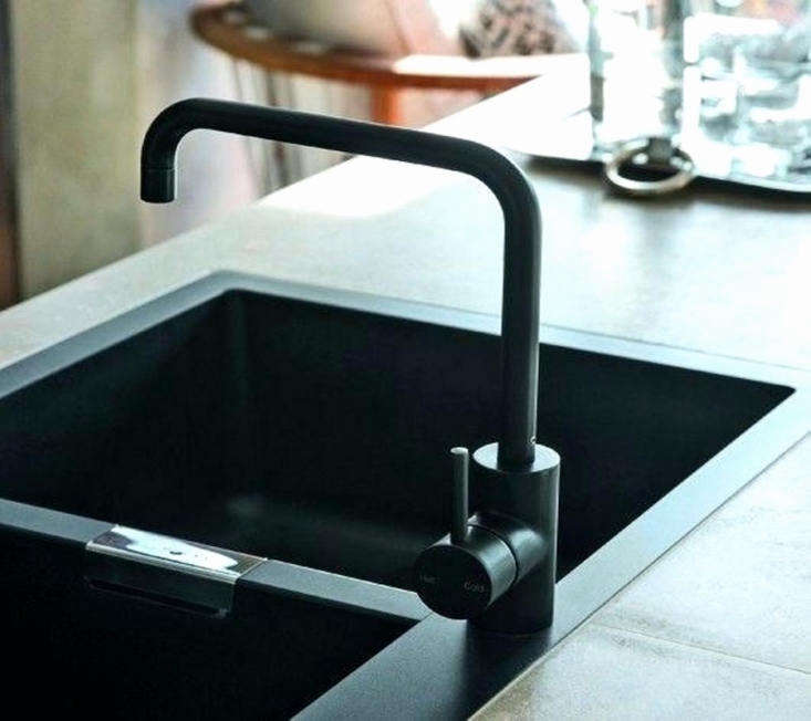Faucets from Astra Walker are all available in Matt Black, like the A69.03.V2 Tap shown here. Contact Astra Walker for price and ordering information. You can see matte black Astra Walker taps in situ inBefore & After: A Melbourne Remodel with a Masculine Touch.