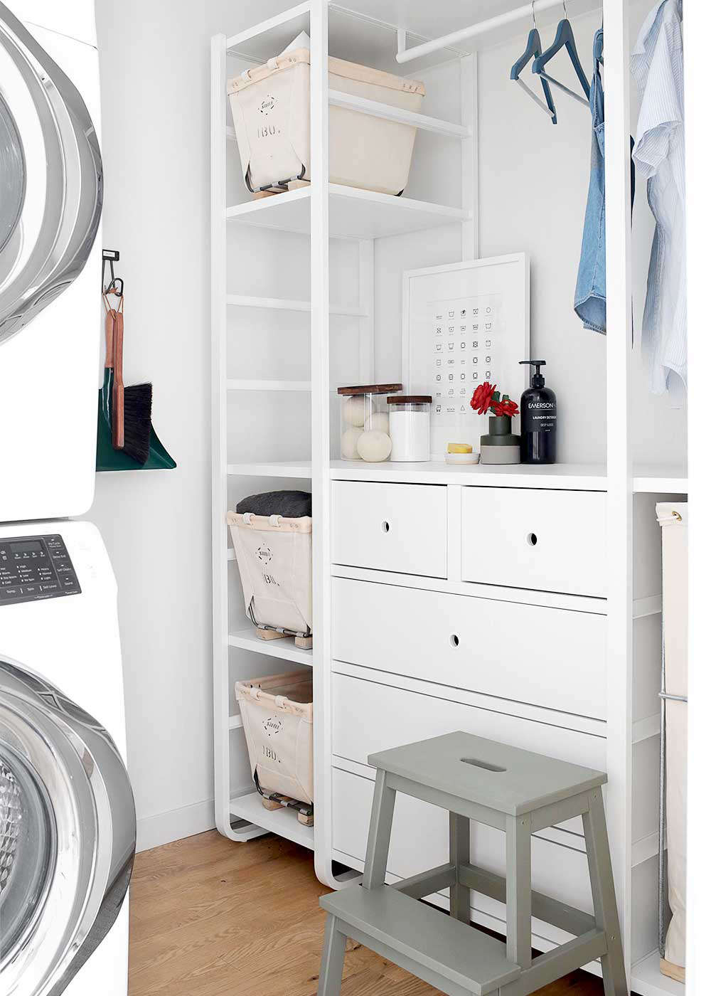 Steal This Look The Faux Martha S Diy Laundry Room Makeover Courtesy Of Ikea The Organized Home