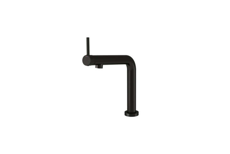 The affordable Bosjön Kitchen Faucet in Brushed Black Metal is $169 at Ikea.