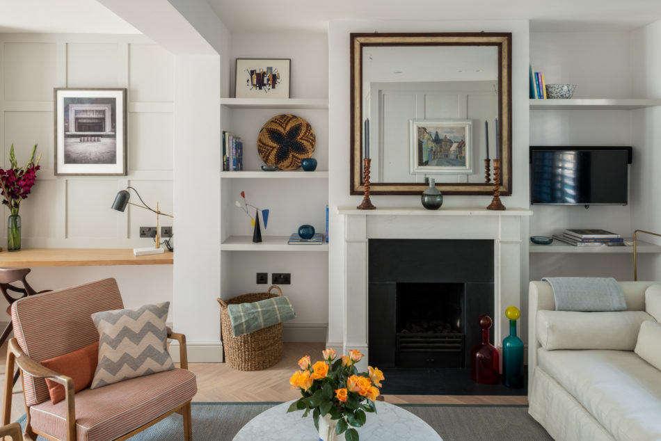 roupell street london modern house fraher living room