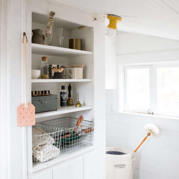 Fan checks out Schoolhouse's newish Organization & Utility department and finds a slew of well-designed, well-priced storage items. SeeThe Cull: 15 Finds From Schoolhouse for a Well-Ordered Home, Under-$50 Edition.