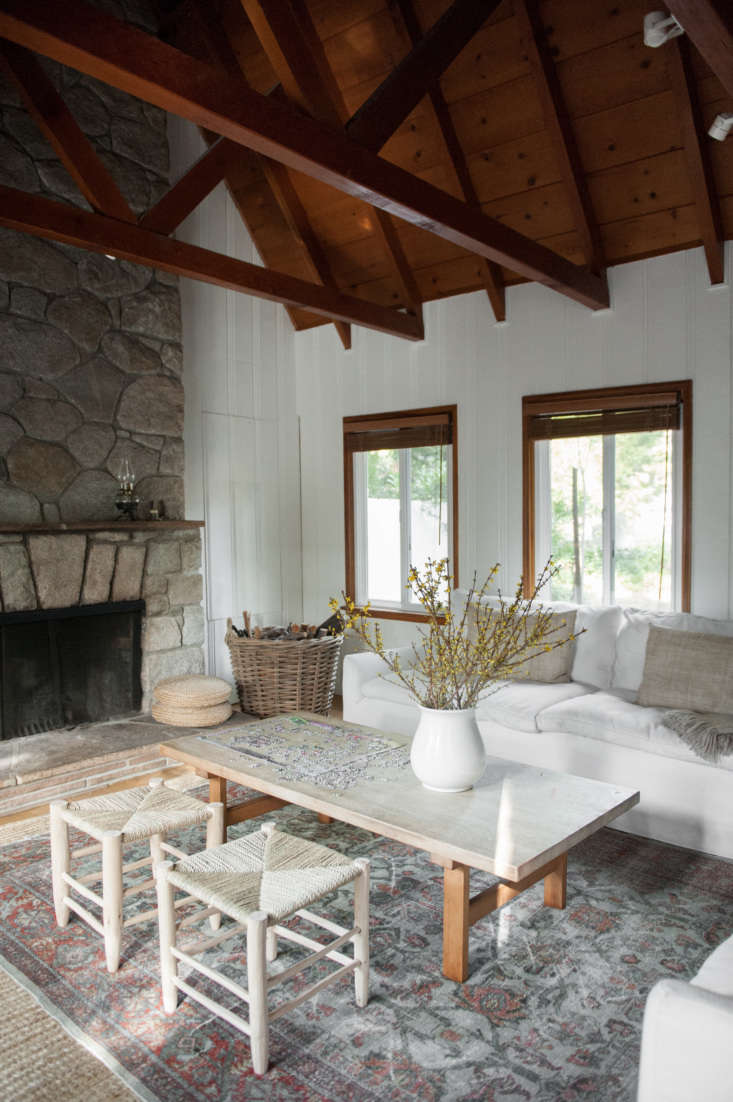 Current Obsessions Upcycled Finds Leanne Citrone, Lake Arrowhead, California cabin, interior design by Lauren Soloff. Melissa Gidney photo via Rip and Tan.