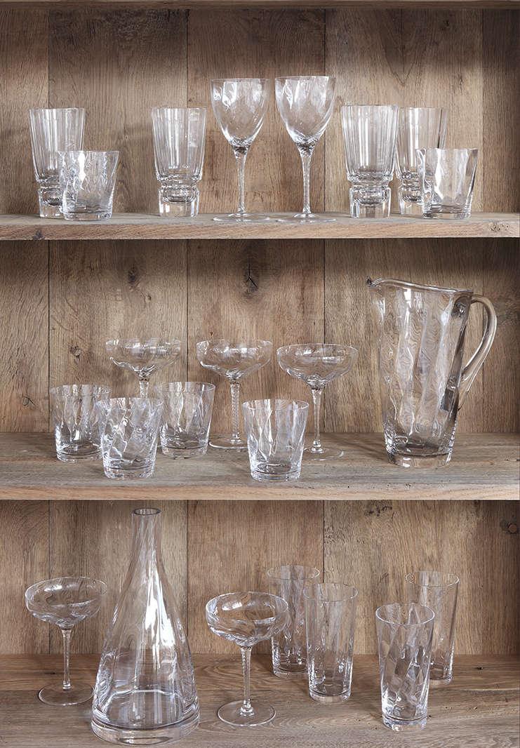 rose uniacke glassware collection