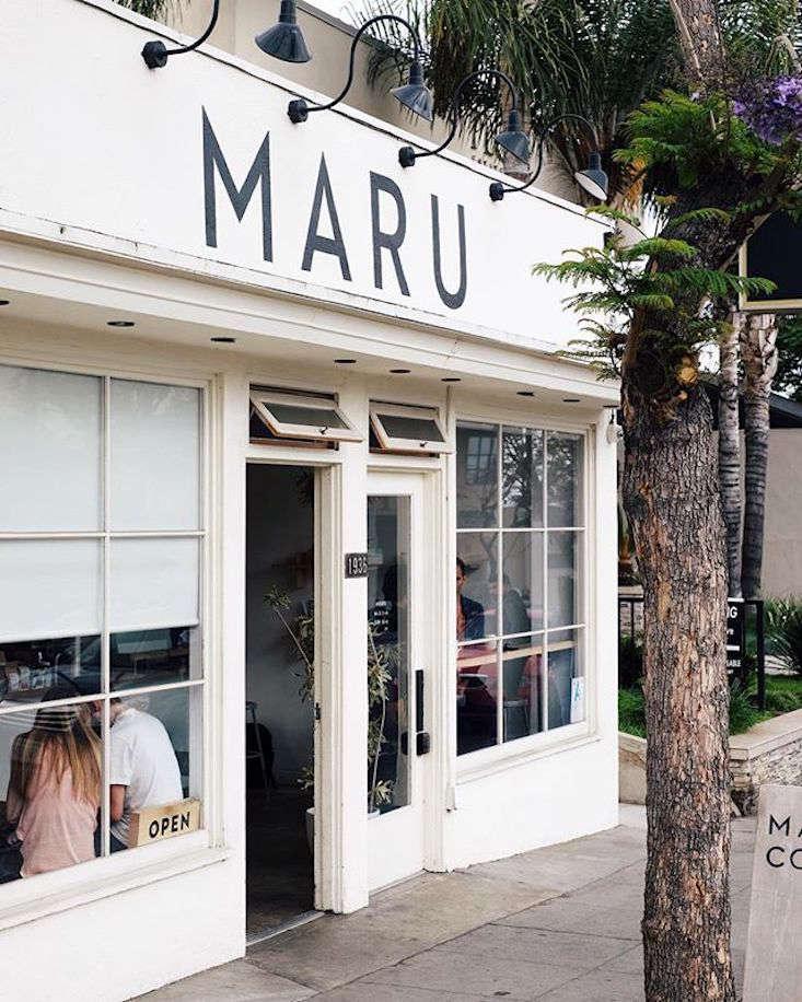 Minimalist Perfection at LA's Maru Coffee