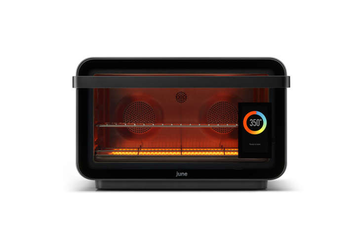The June Oven ($599) is seven appliances in one: A convection oven, air fryer, dehydrator, slow cooker, broiler, toaster, and warming drawer. There's even a camera inside that detects what you're cooking, as well as lets you watch your meal cook from your phone—which is how a friend of mine was alerted that her boyfriend was using theirs to cook a frozen lasagnawith the plastic wrap still on.