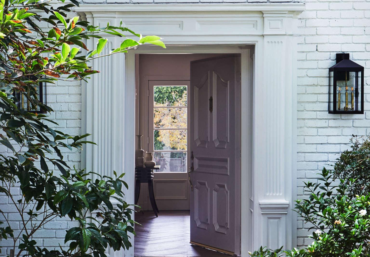 disc interiors holmby hills house front door 1a
