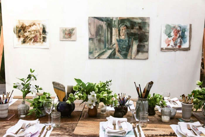 Steal This Look: Dinner in an Artist's Atelier