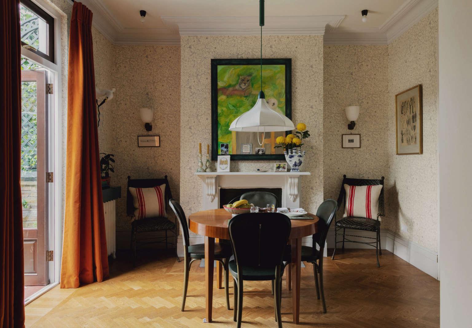 beata heuman modern house london dining room