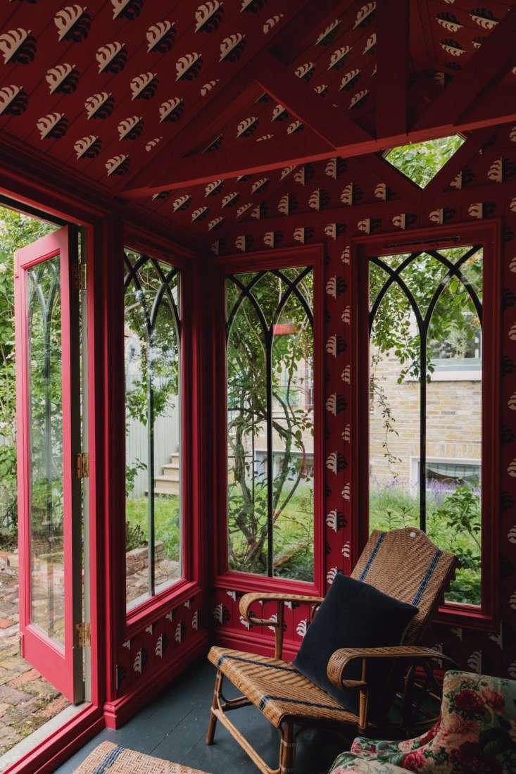 Beata Heuman London Garden Pavilion, Courtesy of The Modern House