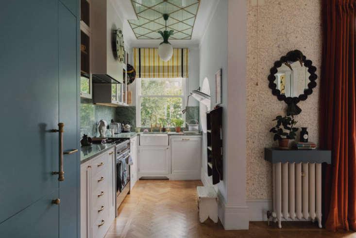 Beata Heuman London Kitchen, Courtesy of The Modern House