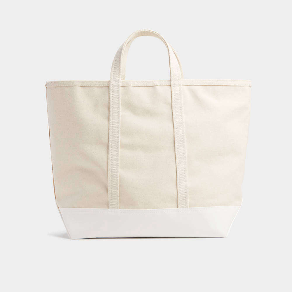 8 Favorites: The Best White Canvas Totes for Summer Jaunts