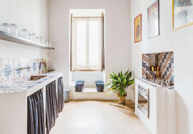 palazzo daniele suite apartment kitchen