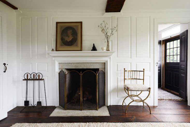 The house has five original granite fireplaces.