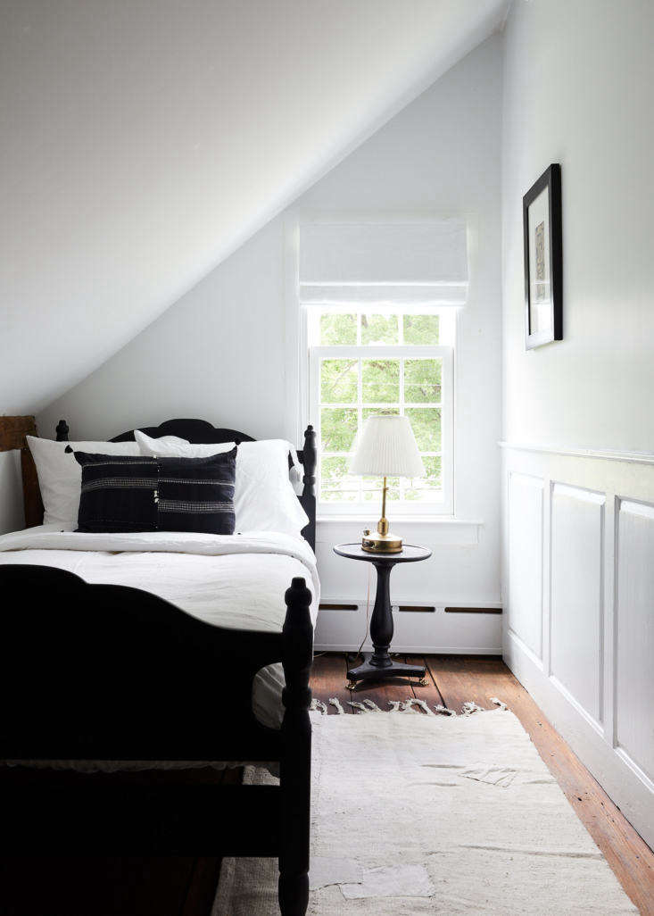 One the the three guest bedrooms.