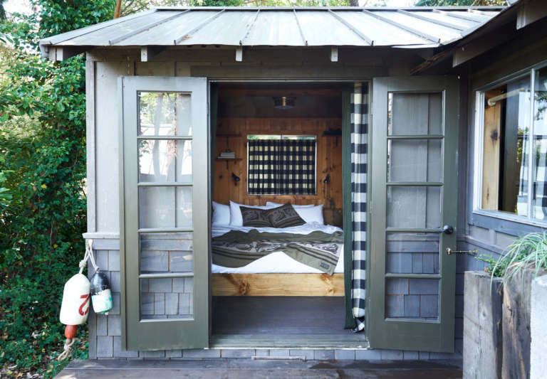 captain whidbey filson cabin exterior