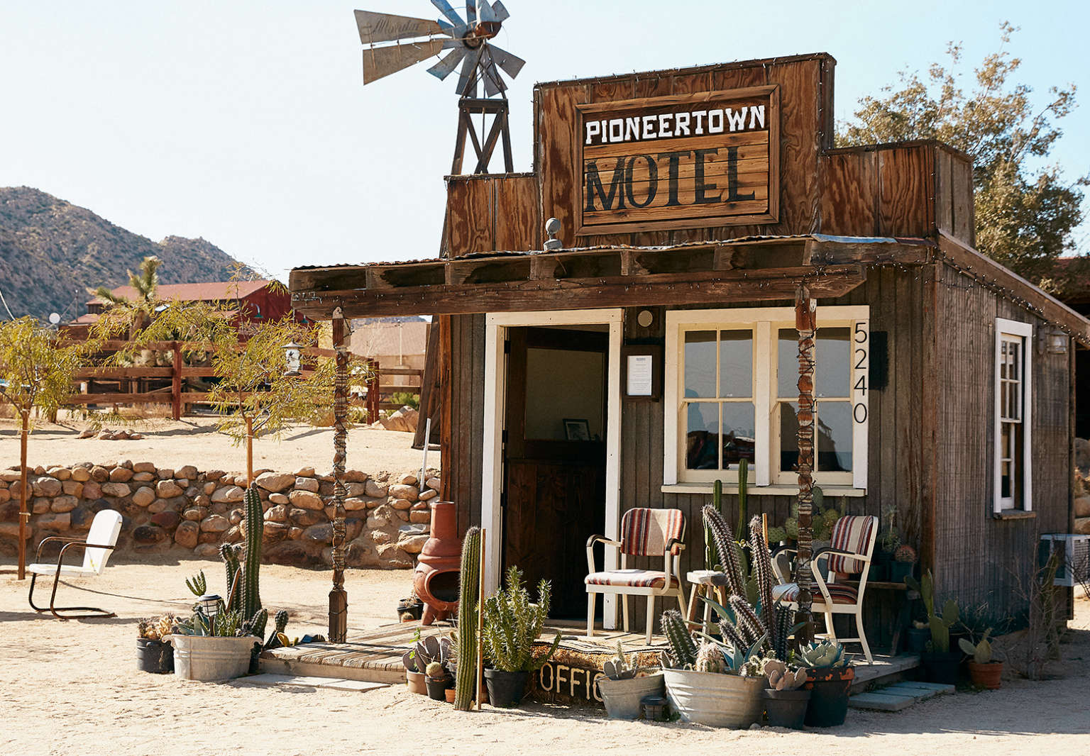Pioneertown Motel The Old West Made New Again portrait 3