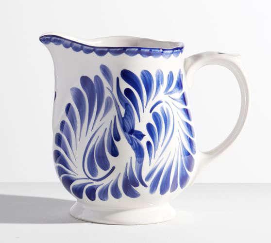 pottery barn puebla pitcher