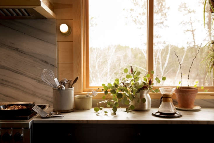 Countertop in Amy Thielen's Kitchen, Photo by Lacey Criswell, Styling by Alison Hoekstra