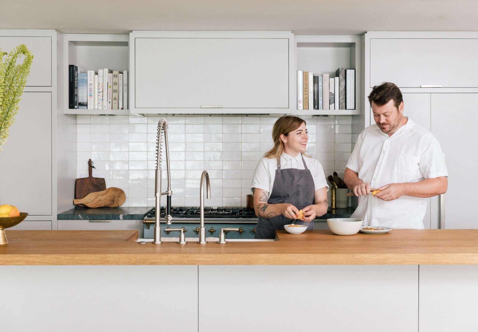 elske apartment david and anna in kitchen carolina mariana rodriguez