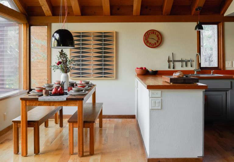 heath ceramics cabin dining room