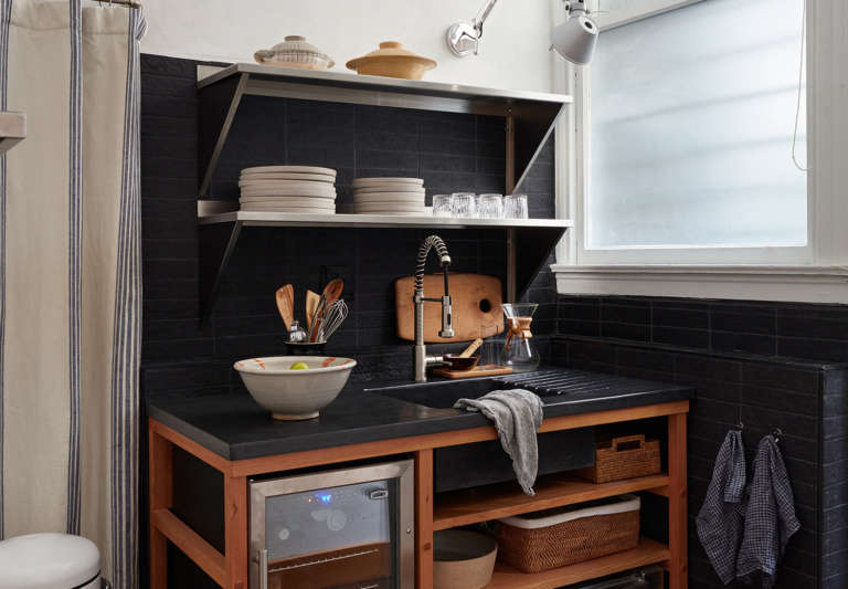 7 Ways To Sneak A Washer Dryer Into The Kitchen