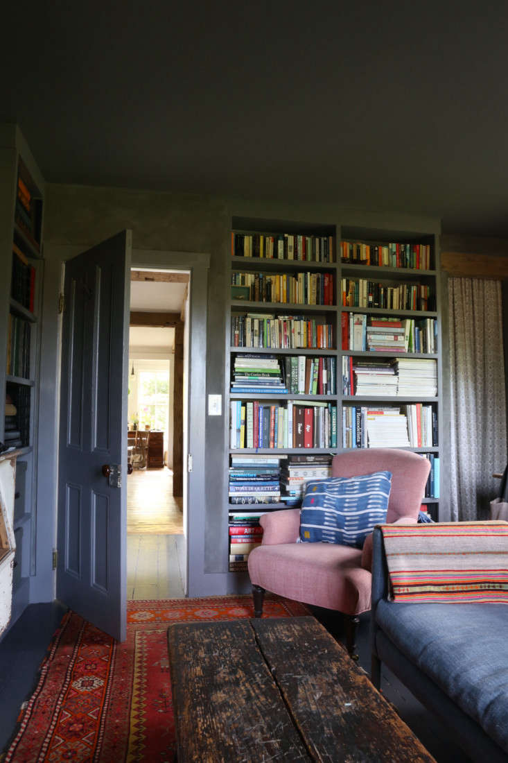 Library, upstate NY remodel by Amanda Pays. Rebecca Westby photo.