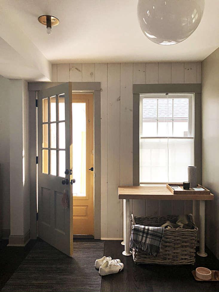 Dumais kitchen Litchfield, CT, entry.