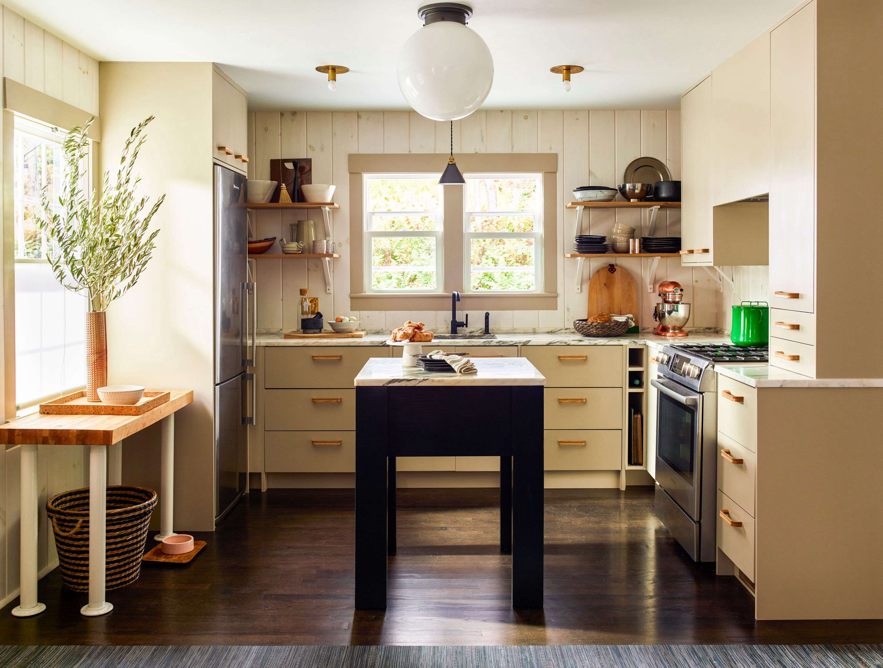 Ikea kitchen upgrade: a cost-conscious modern country kitchen with