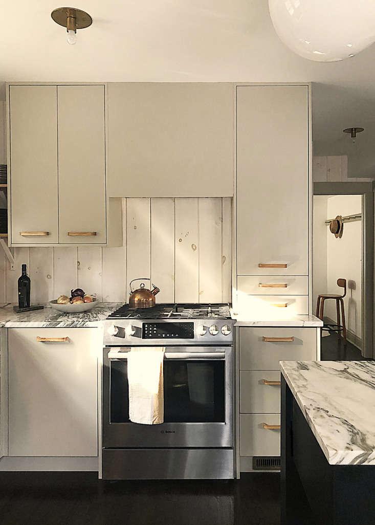 Dumais kitchen Litchfield, CT, stove elevation.