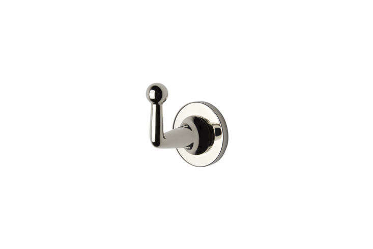 Waterworks Dash Single Robe Hook