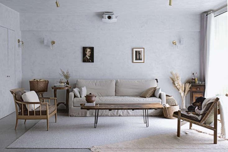 Mandy Lee Lady & Pups Hong Kong Apartment living Room
