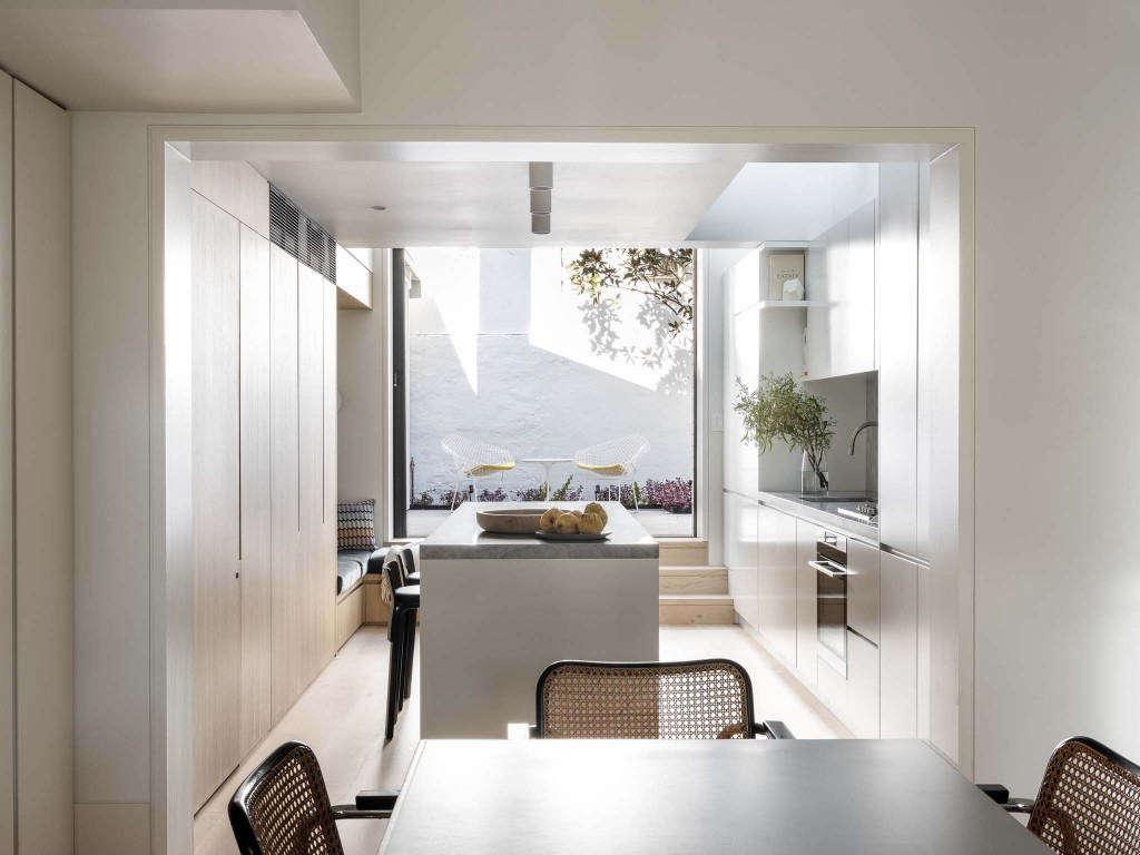 paddington house porebski architects kitchen