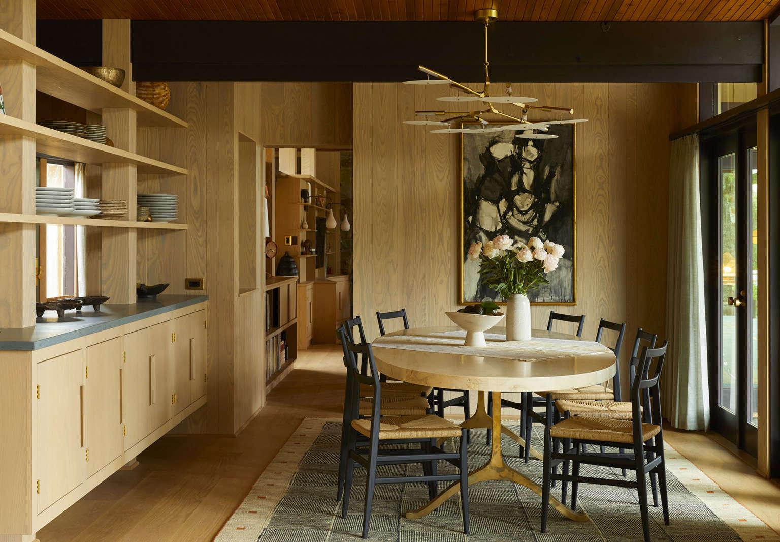 studio shamshiri la jolla john august reed residence dining room