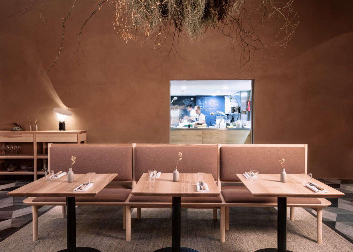 wilder restaurant terence conran kirkwood mccarthy sisal rug
