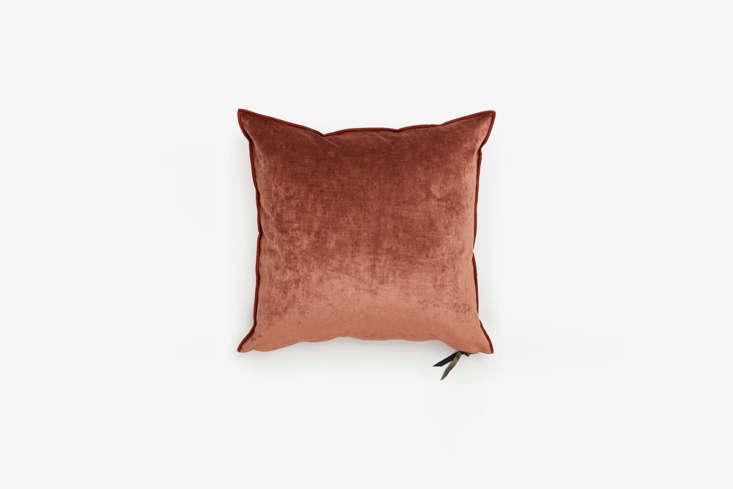 ABC Carpet & Home Maison de Vacances Royal Velvet Pillow in Clay
